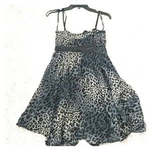 bebe Leopard Dress